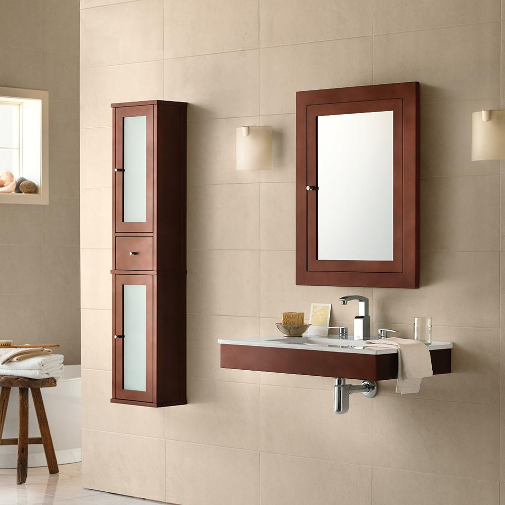 Wall Mounted Bathroom Vanity - Floating Single and Double Sink ...