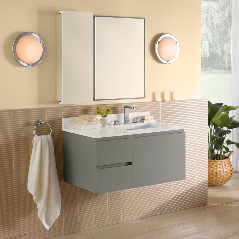 modern gray mount product vanity bliss double bathroom vanities go wall oak sink