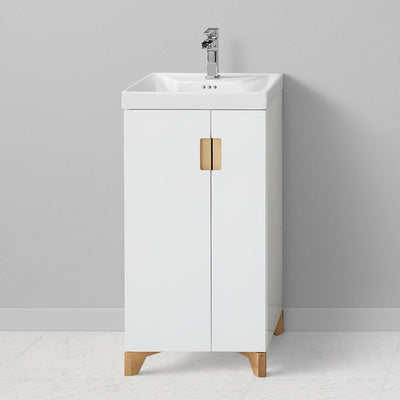 18  Aravo Petite Vanity Cabinet Base  sc 1 st  Ronbow : wide bathroom cabinet - Cheerinfomania.Com