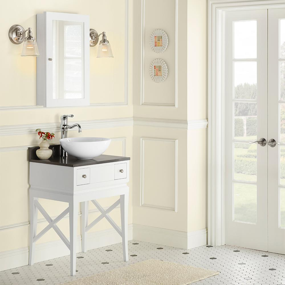 23u201d Angelica Bathroom Vanity Set With Medicine Cabinet