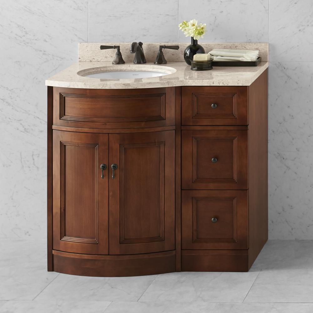 12 Quot Marcello Freestanding Bathroom Storage Drawer Bank