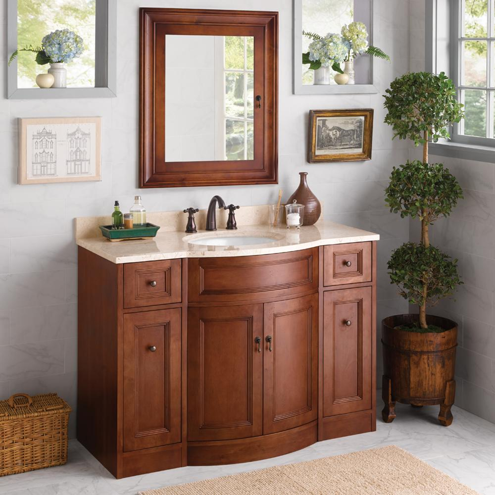 walnut cabinet bathroom washed martin white chicago single transitional james countertops vanity inch optional