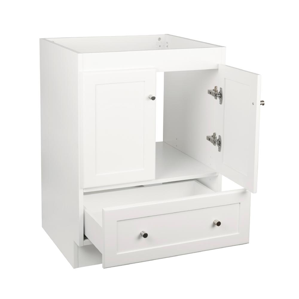 24 Shaker Modern Bathroom Vanity Cabinet Base