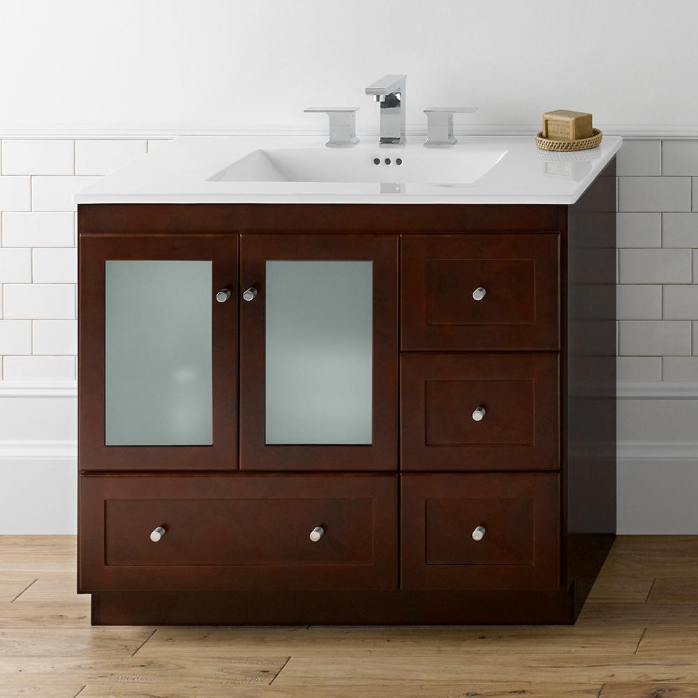 30 Shaker Bathroom Vanity Cabinet Base