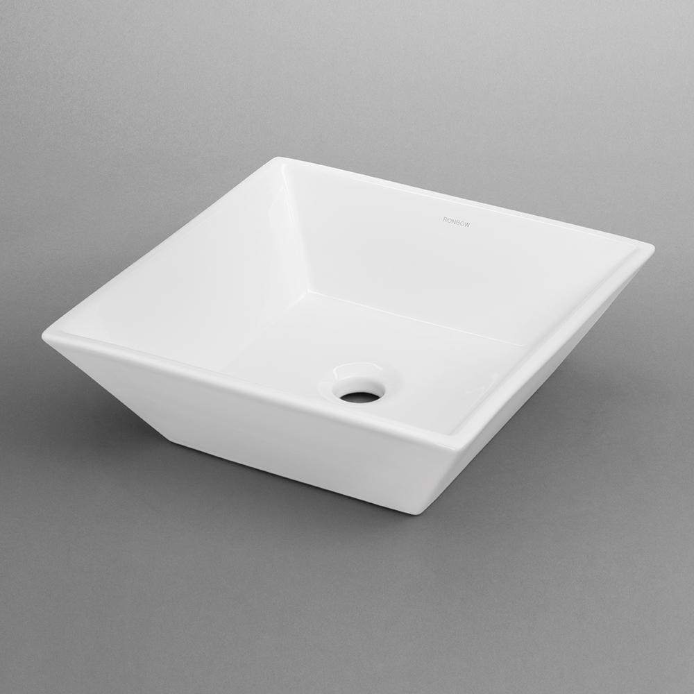 formation square ceramic vessel bathroom sink no reviews.  formation square ceramic vessel bathroom sink – ronbow