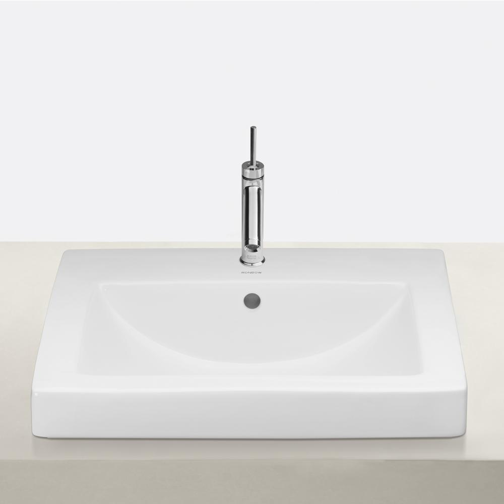 Bathroom sink rectangular - 21 Camber Rectangular Ceramic Vessel Bathroom Sink In White