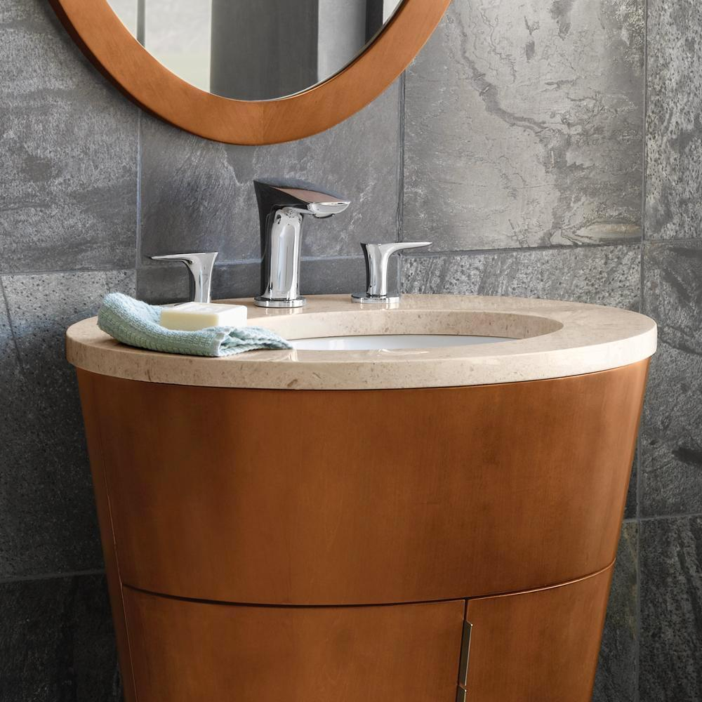 Top Mount Bathroom Sink Cabinets