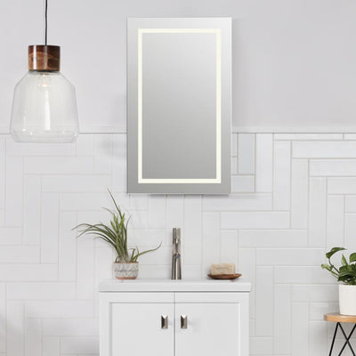 LED Bathroom Mirrors   Bathroom Mirror With LED Lights   LED Lighted ...