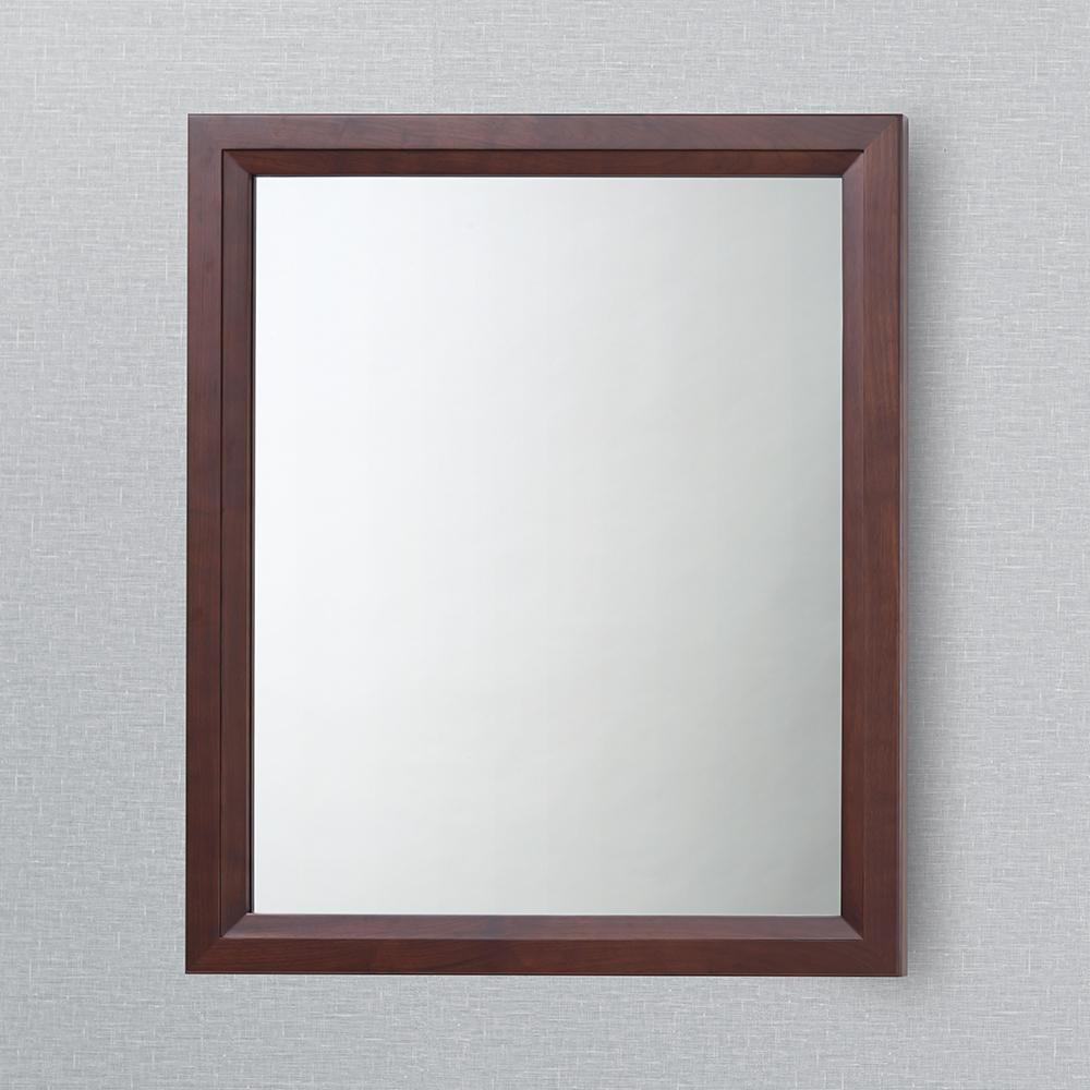 30 Quot Reuben Transitional Solid Wood Framed Bathroom Mirror