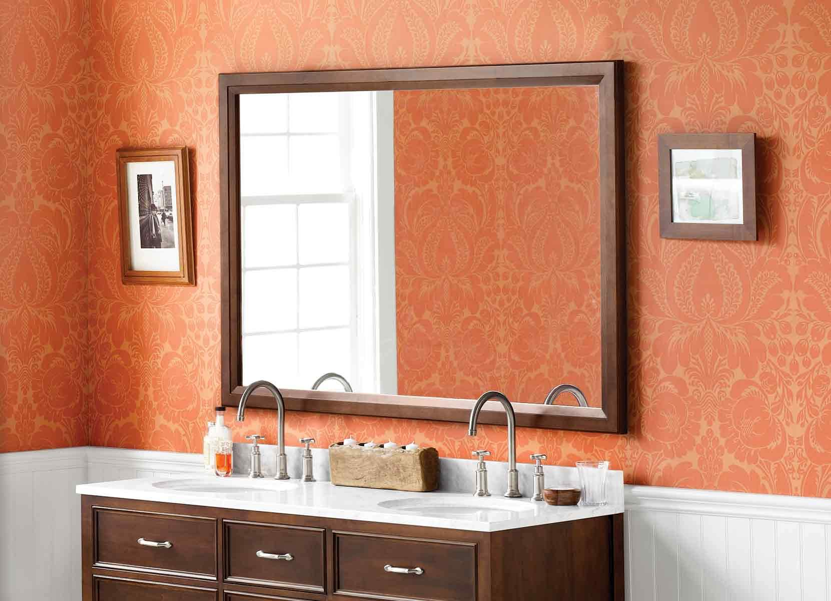Shop Wood Frame, Metal, And LED Mirrors And Medicine Cabinets | Ronbow