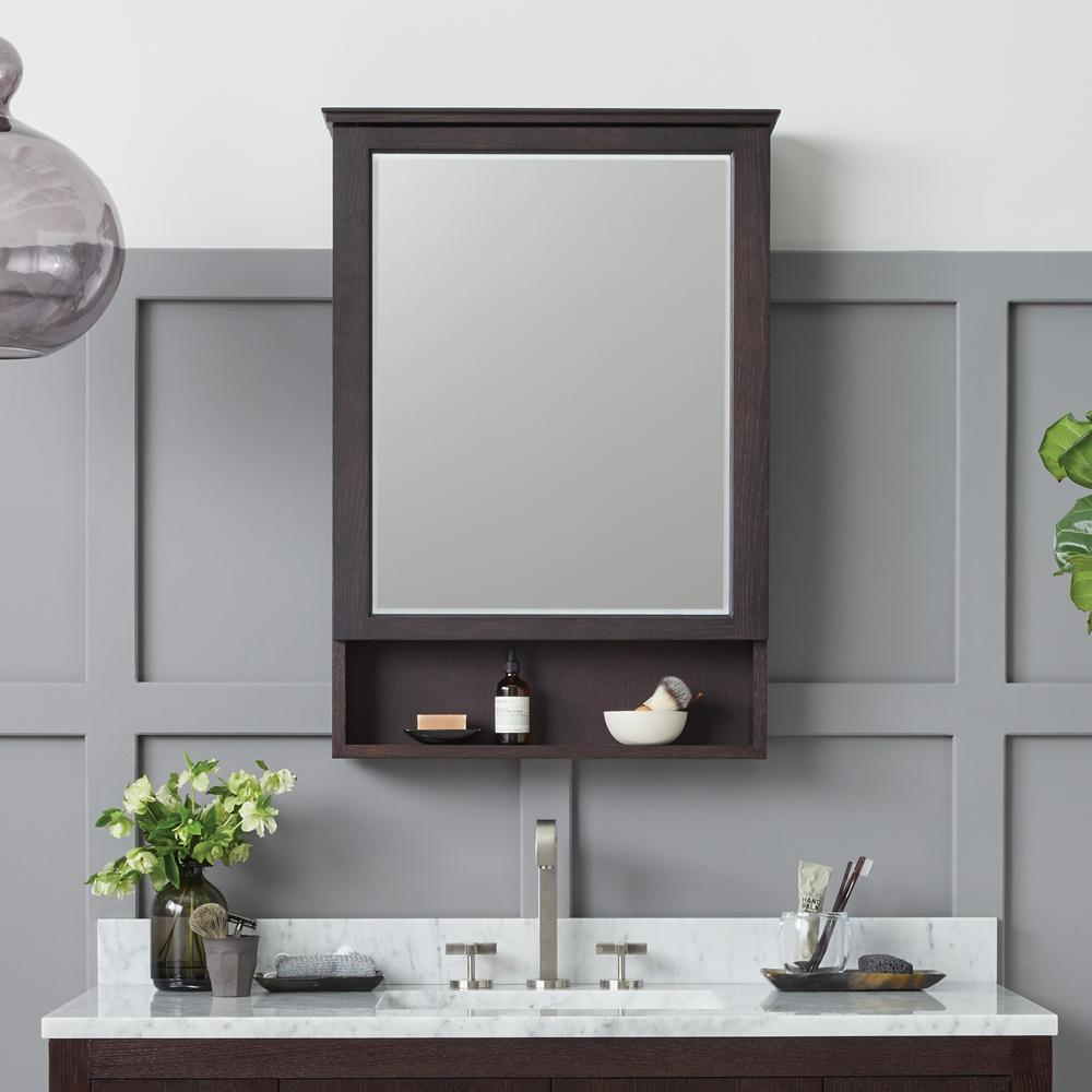 Bathroom Medicine Cabinets with Mirror - Recessed and Surface Mount ...