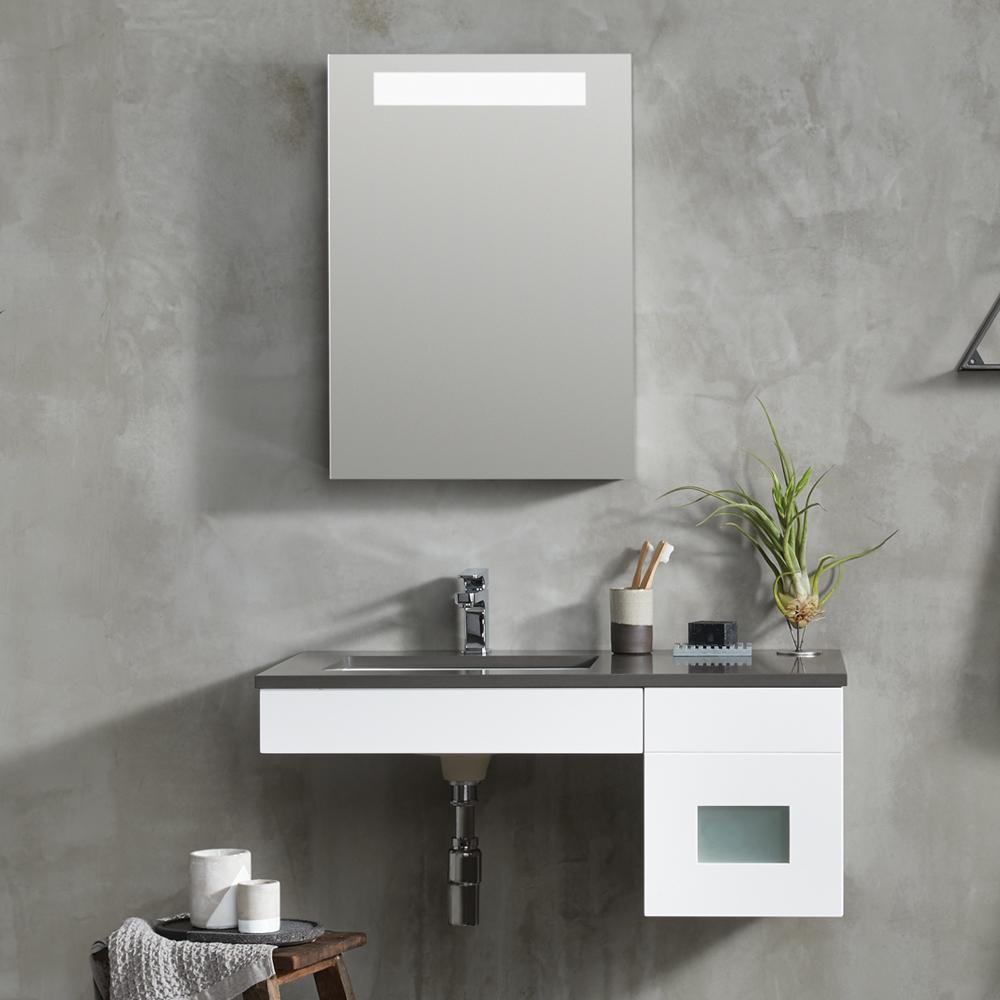 framed mirrors for bathroom vanities 20 quot damien contempo metal frame led medicine cabinet in 23199