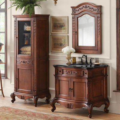 Shop Bathroom And Living Room Curio Cabinets | Ronbow