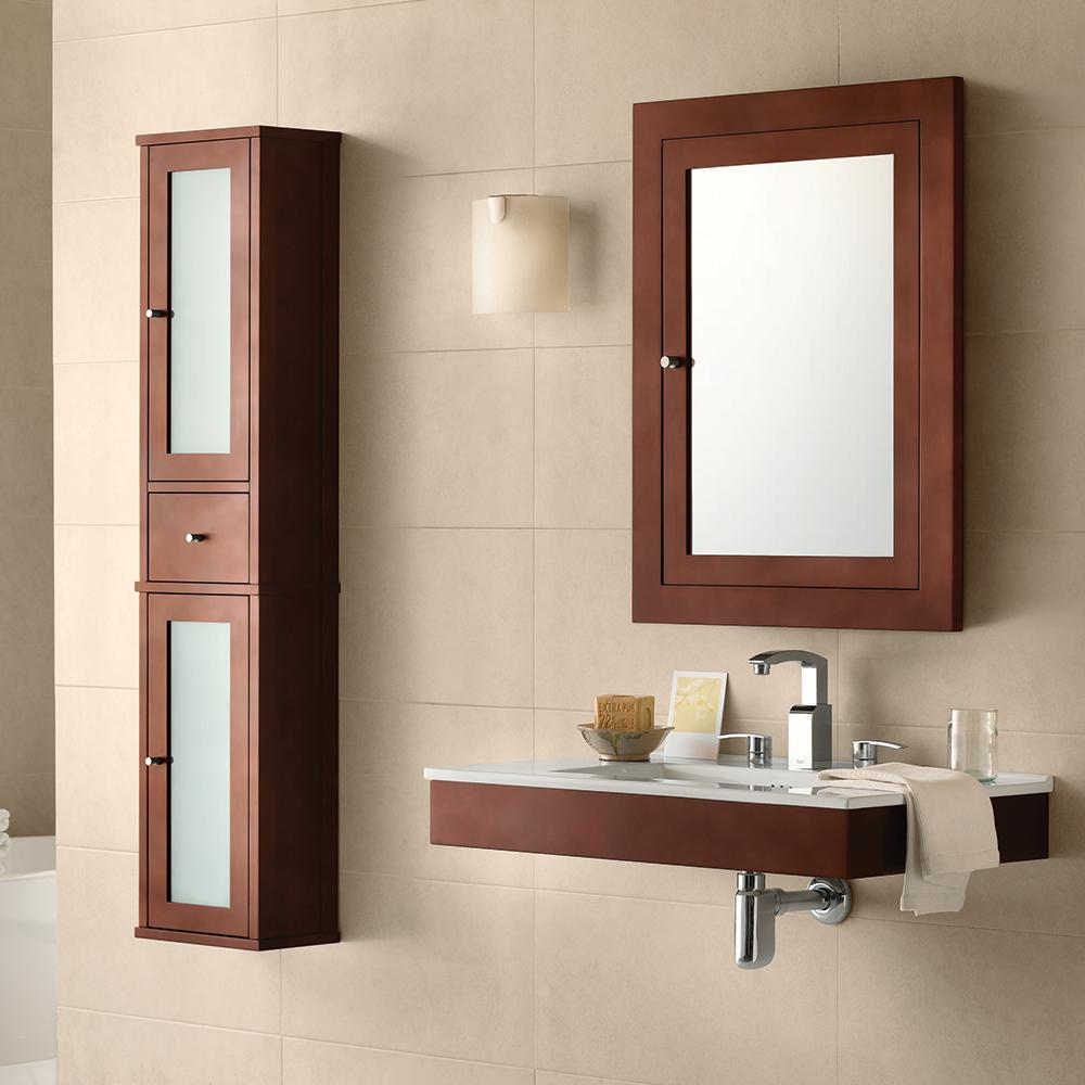 55 Quot Tall Cole Bathroom Wall Cabinet