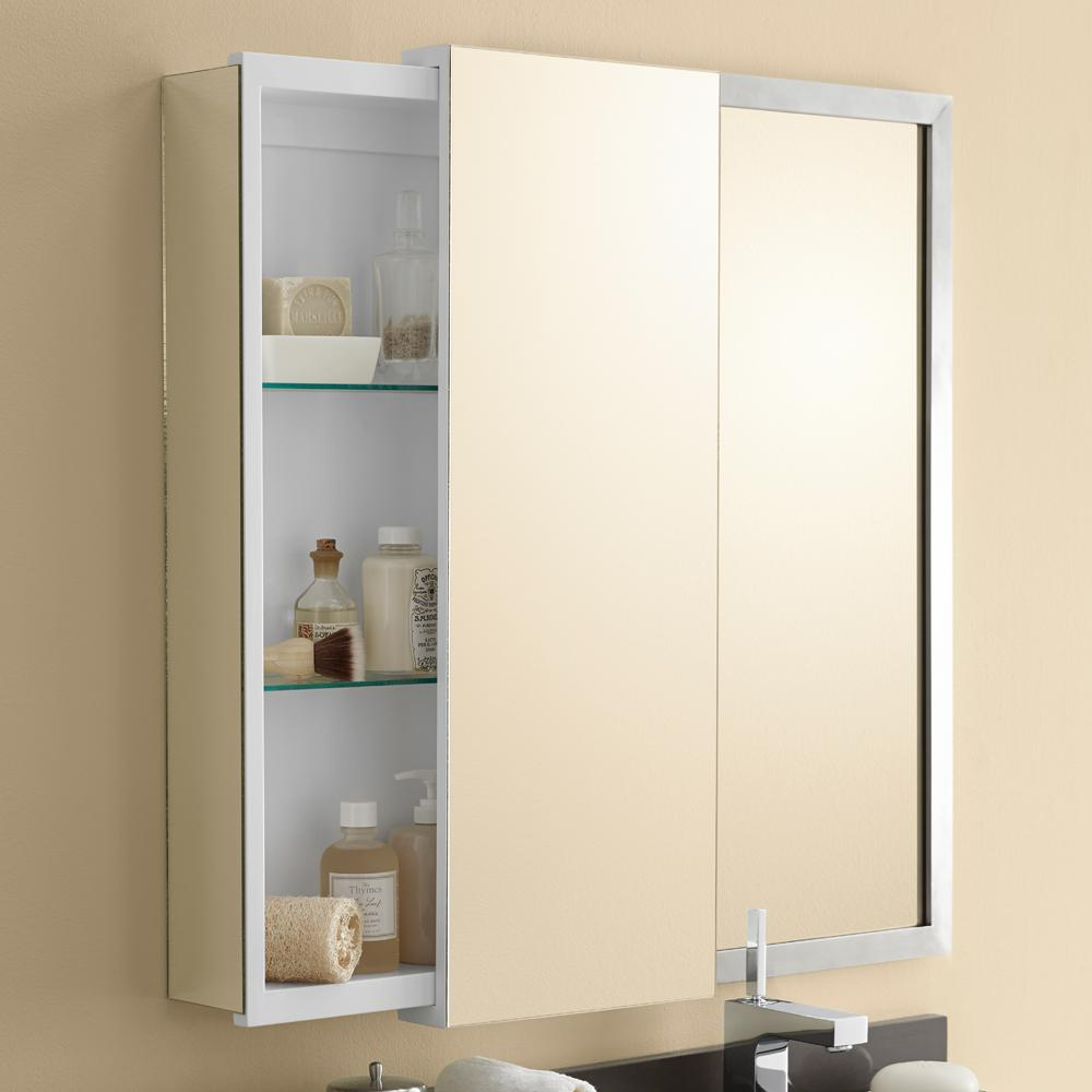 12 X 32 Dakota Sliding Door Bathroom Wall Cabinet