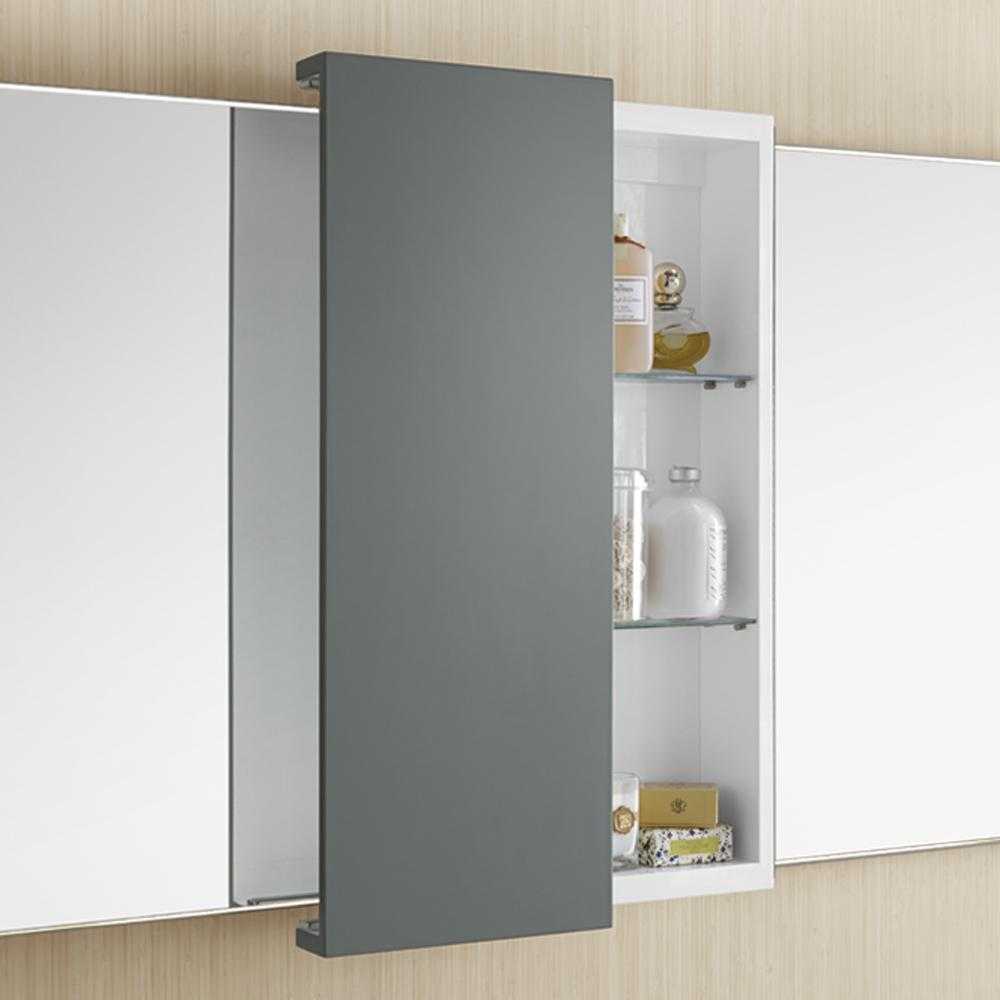 12 Quot X 32 Quot Dakota Sliding Door Bathroom Wall Cabinet
