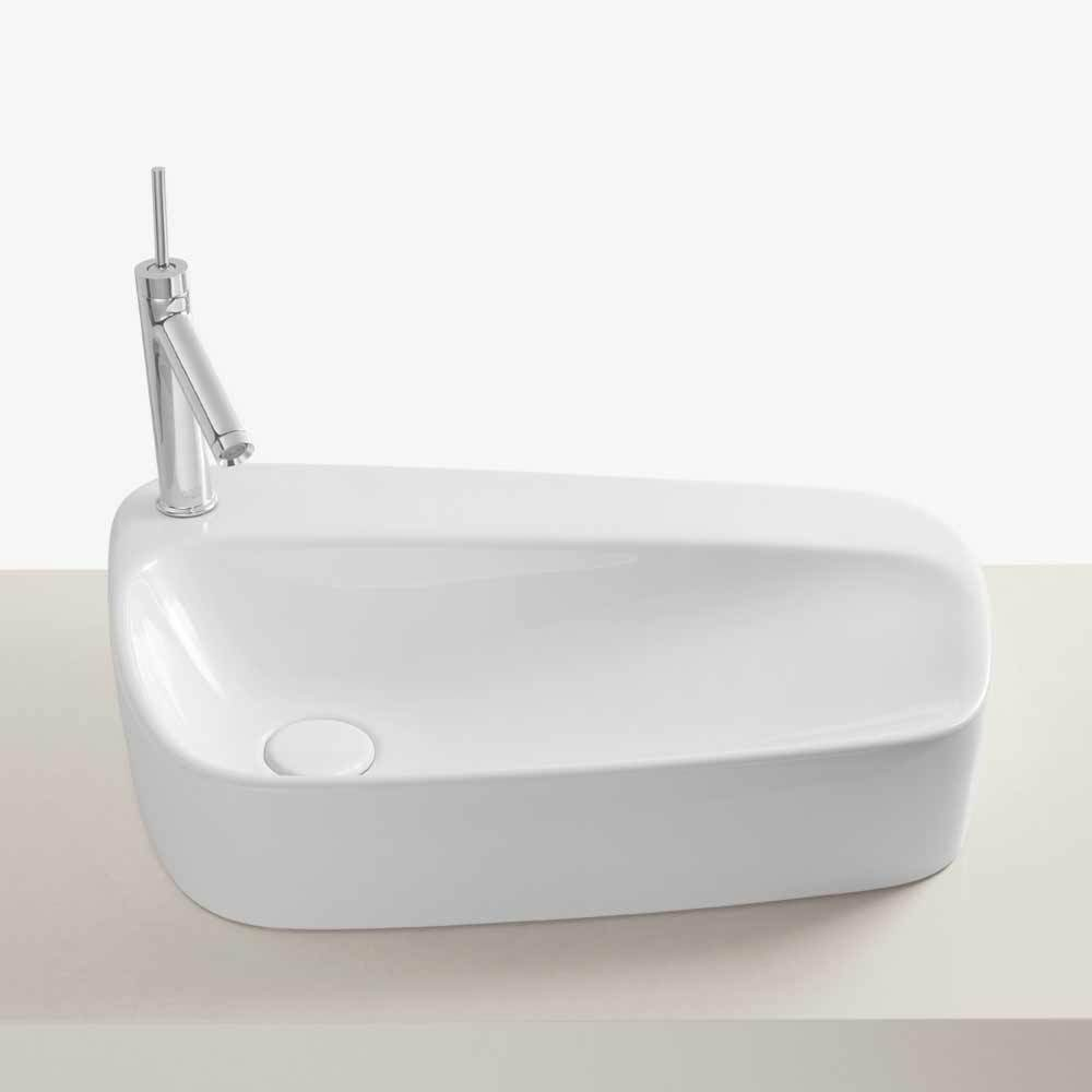 24 Quot Serous Above Counter Ceramic Vessel Sink Without