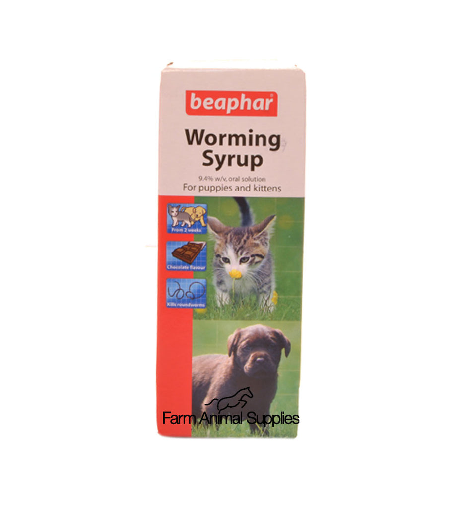 Johnsons Puppy Easy Worm Syrup