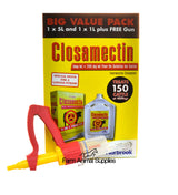 Closamectin Pour-On Cattle (Meat withdrawal now 58 days)