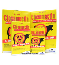 Closamectin Pour-On Cattle
