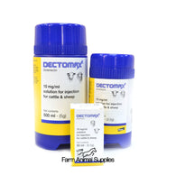 Dectomax Injection Cattle & Sheep - 50ml, 250ml or 500ml