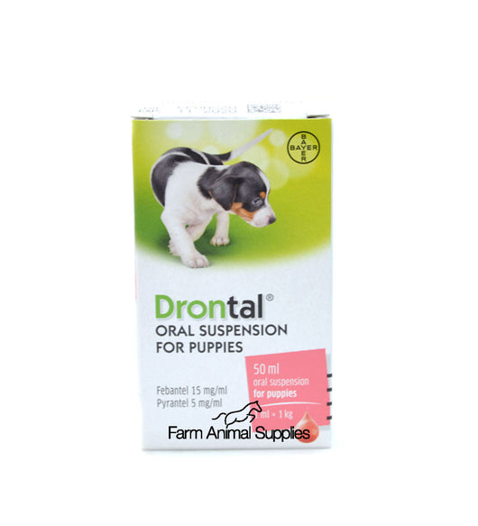 Drontal Worming Suspension - For Puppies 50ml & 100ml