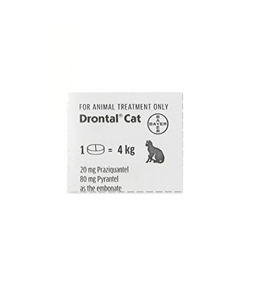 Drontal Worming Tablet - For Cats