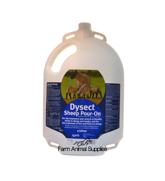 Dysect Pour On For Sheep - 5L