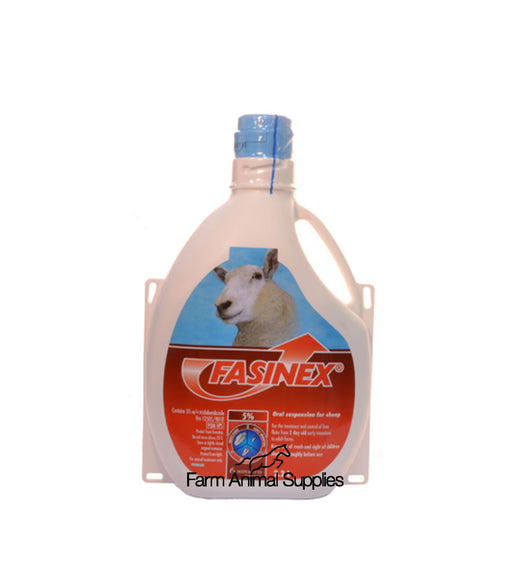 Fasinex 5% Sheep Drench - 2.2L or 5L
