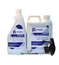Iodine Strong 7% - 500ml, 1L or 2L
