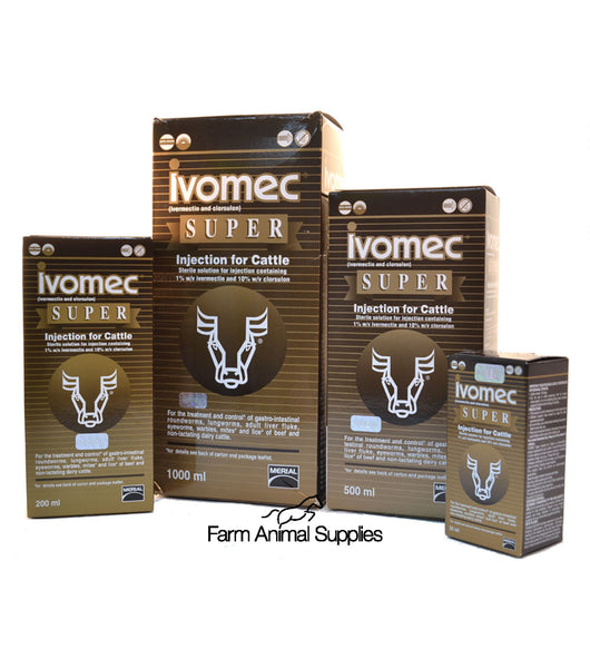 Ivomec Super - 50ml, 200ml, 500ml or 1L