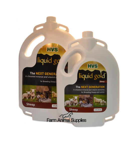 Liquid Gold For Sheep - 2.5L or 5L