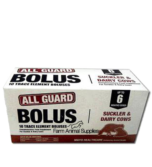 Mayo Healthcare All Guard Bolus Suckler and Dairy Cows - 10