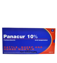Panacur 10% Cattle, Sheep & Horse Wormer (NOT FOR USE ON DOGS) - 1L