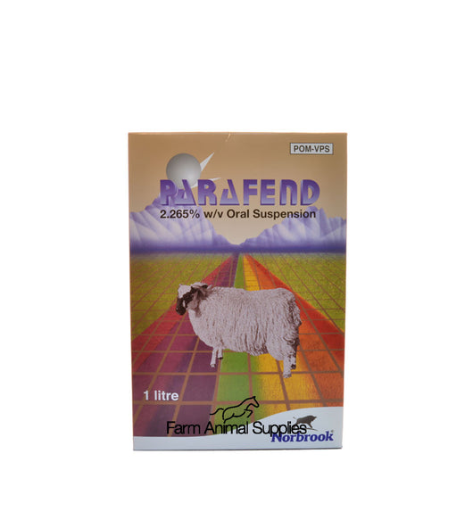 Parafend Sheep Drench - 1L, 2.5L, 5L or 10L