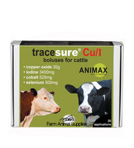 Tracesure Cu/I Boluses For Cattle - 10