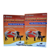 Triclafas Fluke Drench Sheep - 2.5L or 5L