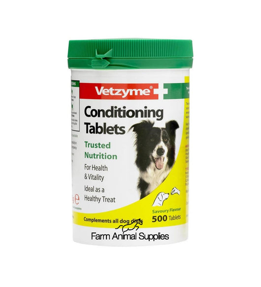Vetzyme Tablets 500 pack