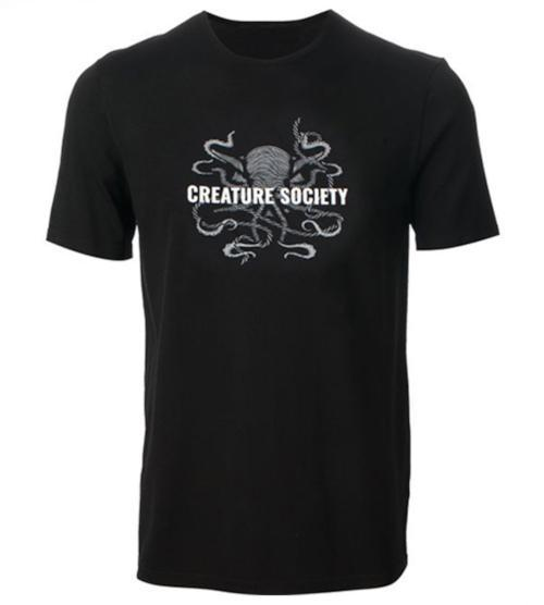 CREATURE SOCIETY Octopus Logo Tee New Arrivals  - Creature Cups