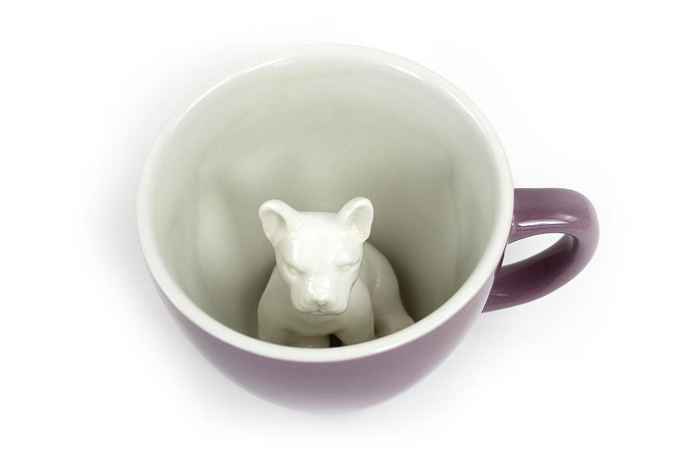 Frenchie (Mauve) Land Creature Cups  - Creature Cups