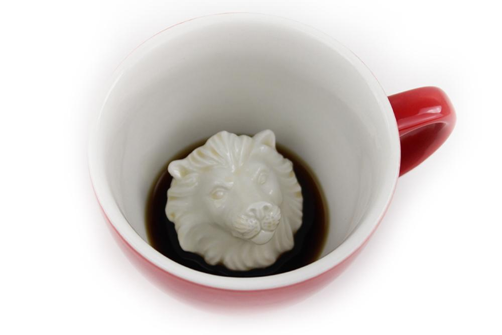 Lion (Red) Land Creature Cups  - Creature Cups