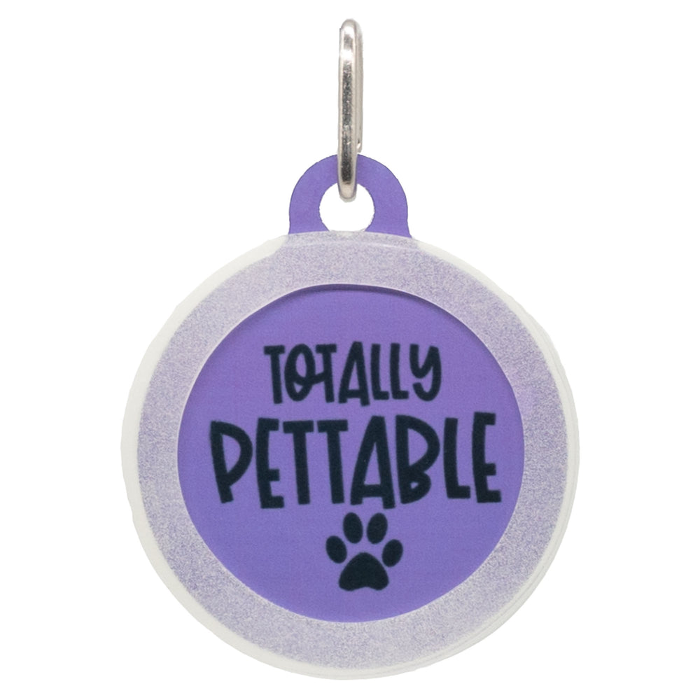 Totally Pettable Dog ID Tag