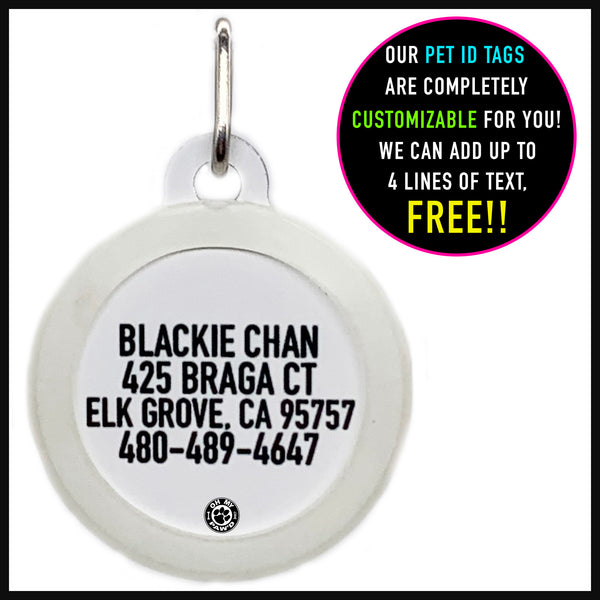 Chick Magnet Dog ID Tag