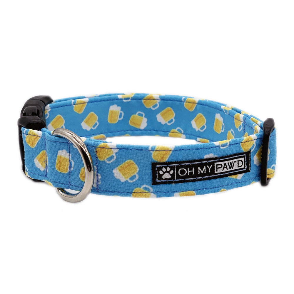 Beer Mug Dog Collar