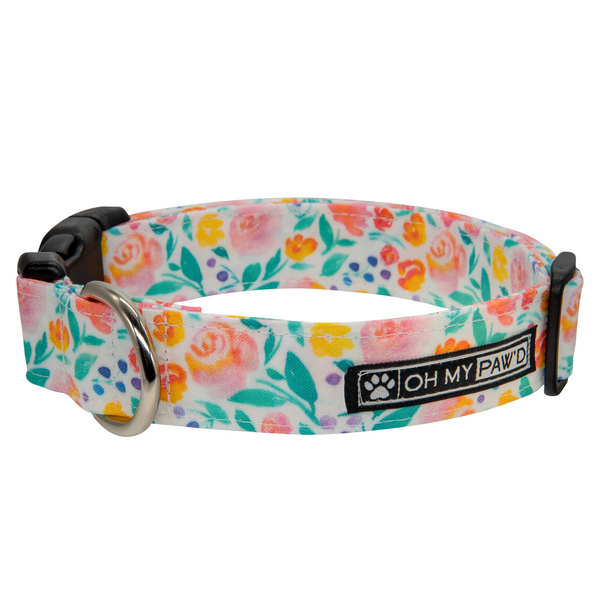 Live Life In Full Bloom Dog ID Tag