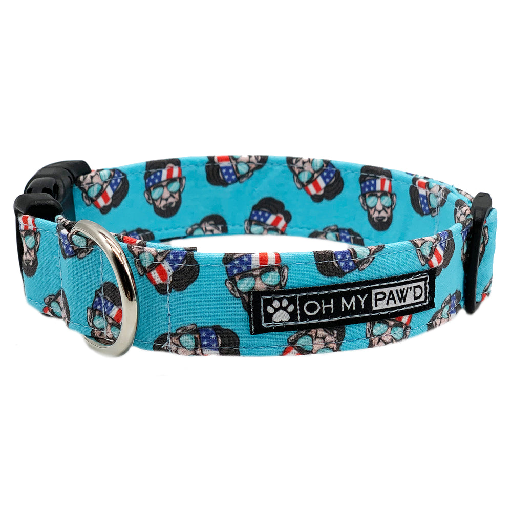 Abe Lincoln Dog Collar
