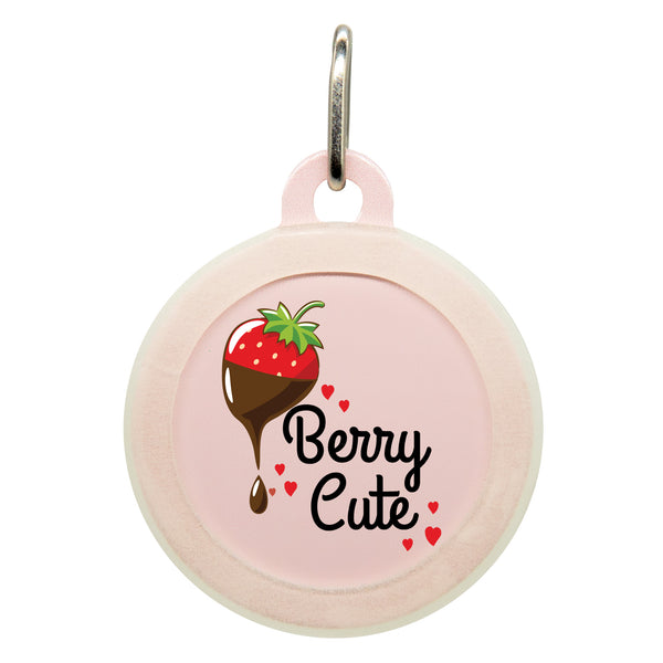 Berry Cute Dog ID Tag