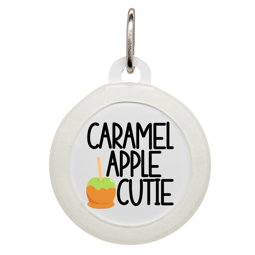 Caramel Apple Cutie Dog ID Tag