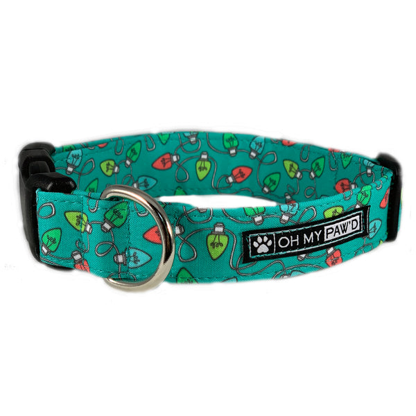 Christmas Lights Pet Collar - Oh My Paw'd
