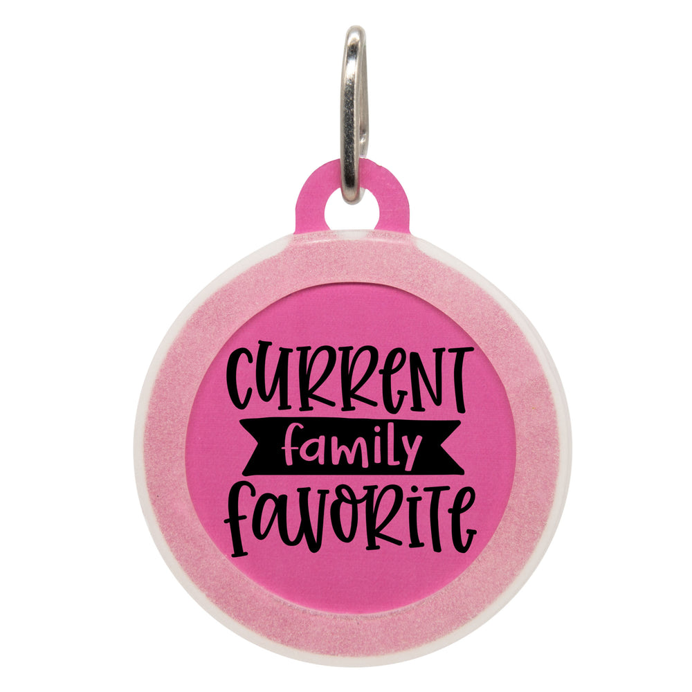 Current Family Favorite Dog ID Tag